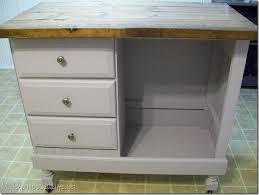 Repurposed Secretary Desk Kitchen Cool Diy Kitchen Island From Desk Dresser Diy Kitchen