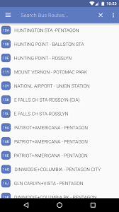 dc metro and bus android apps on google play