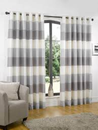 curtains grey and white striped brockhurststud com wondrous design