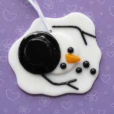 25 unique melted snowman ornament ideas on
