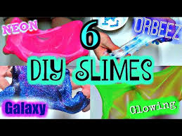 6 Diy Ways To Make by Easy Diy Slime Omg 6 Ways To Make Slime With Out Borax