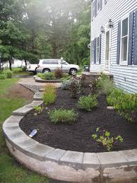 Elevated Front Yard Landscaping - small space landscape designs landscaping and design garden ideas