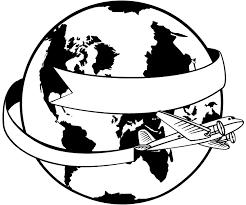 around the world svg