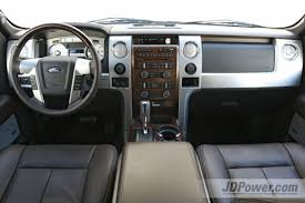 Nicest Truck Interior A Closer Look Four Full Size Pickup Trucks J D Power Cars