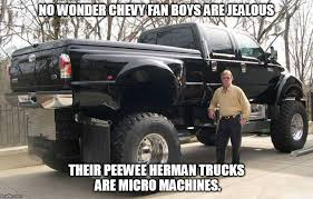 Big Truck Meme - image tagged in chevy fan boys big truck imgflip