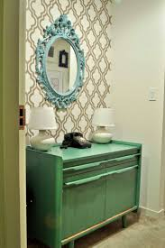 Turquoise Entry Table by Decor Lulu Abroad Part 4