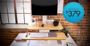 standing desks with power adjustable height evodesk