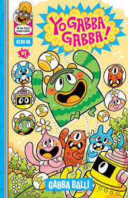 oni press release yo gabba gabba board comics stand