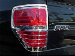 2010 ford f150 tail light cover tfp chrome tail light covers best prices realtruck com