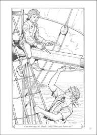 island coloring page treasure island coloring book 013087 details rainbow resource