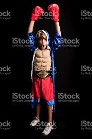 Boxer Halloween Costumes Boy Dressed Boxer Halloween Costume Stock Photo 175497530 Istock
