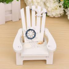 mediterranean style wooden mini chairs desktop ornaments home
