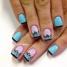 best 10 colored tip nails ideas on pinterest nails tips for