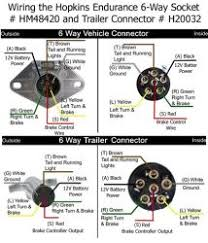 how to rewire trailer for 6 way connection with separate turn