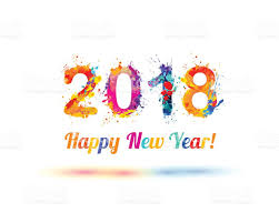 new year happy new year 2018 stock vector more images of 2018 636546872