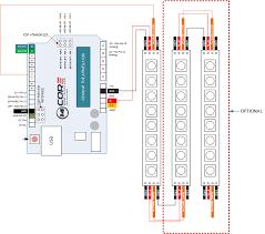 wiring ws2812 8 bit rgb led strip with arduino 14core com