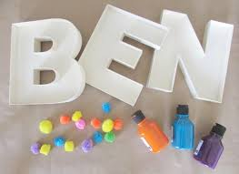 how to decorate fillable wooden letters hobbycraft blog
