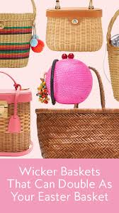 wicker easter baskets best bags for easter sunday instyle