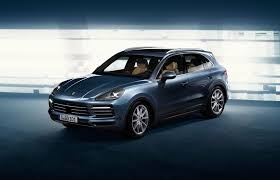 2017 porsche cayenne gts blue new porsche cayenne is here for 2018 by car magazine