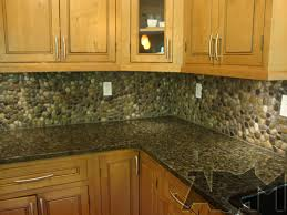 DIY Stone And Pebble Kitchen Backsplashes To Make Shelterness - Backsplash diy