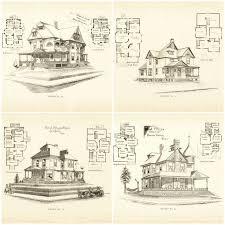 79 best vintage house plans 1800s images on pinterest vintage
