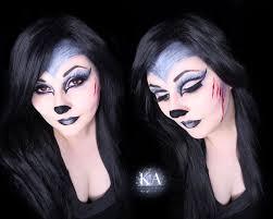 Halloween Werewolf Makeup Big Bad Wolf Makeup W Tutorial By Katiealves On Deviantart