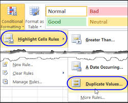 highlight duplicate records in an excel list contextures blog