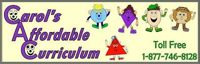 carol s affordable curriculum