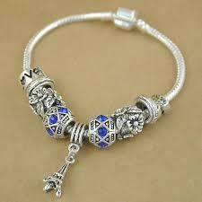 silver bead bracelet diy images Yumfeel new fashion vintage silver elephant beads bracelets for jpg