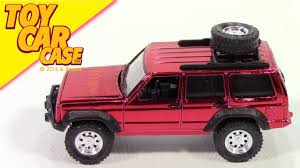 jeep cherokee toy tomy tomica johnny lightning jeep cherokee chrome red 2014 toy car