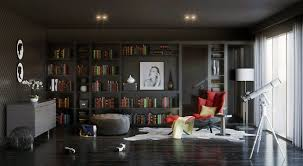 modern home library interior design beautiful modern home library interior design ideas interior