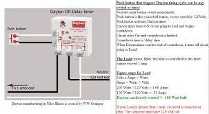 off delay timer wiring diagram diagram wiring diagrams for diy