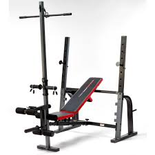 olympic bench set with weights bench decoration