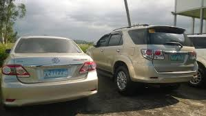 toyota philippines vehicle registration plates of the philippines wikiwand