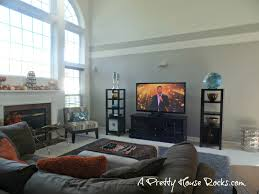 2 story family room easy paint idea no scaffold required a