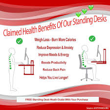 standing desk hub sit stand desk 2 tier adjustable to any height