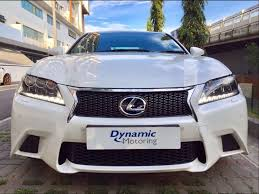 lexus used buy buy used toyota lexus gs450h cvt f sport car in singapore 114 800