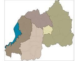 Rwanda Africa Map by Rwanda Shapefiles Map East Africa