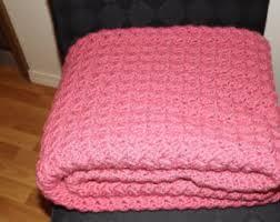 light pink throw blanket pink throw blanket etsy