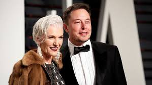 elon musk paypal elon musk s mother 69 is the new face of covergirl fox news