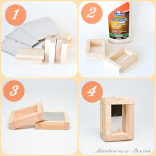 How To Make A Easy Toy Box by Mirror Wooden Blocks