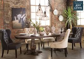 living spaces dining table set i love everything jeff lewis does living spaces multiuse muse living