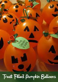 treat filled pumpkin balloons pumpkins sony and balloons