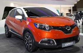 renault samsung sm7 renault samsung qm3 the captur goes korean