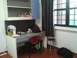 welcome to my life first day at ntu hall single room this is desk