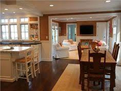 Open Concept Living Room Kitchen Design Pictures Remodel Decor - Family room remodel