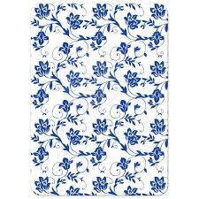 damask ribbon wedding invitation royal blue floral damask ribbon