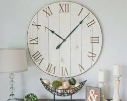 oversized clocks oversized wall clocks for antique sense in any room