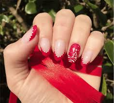 christmas nail art designs and trends in winter season 2016