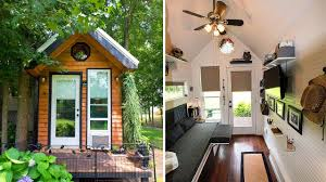Mother Daughter House Plans Mendy U0027s Tiny Home 128 Sq Ft Tiny House Design Ideas Youtube